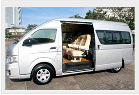 van for hire baguio