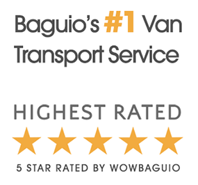 van for rent baguio